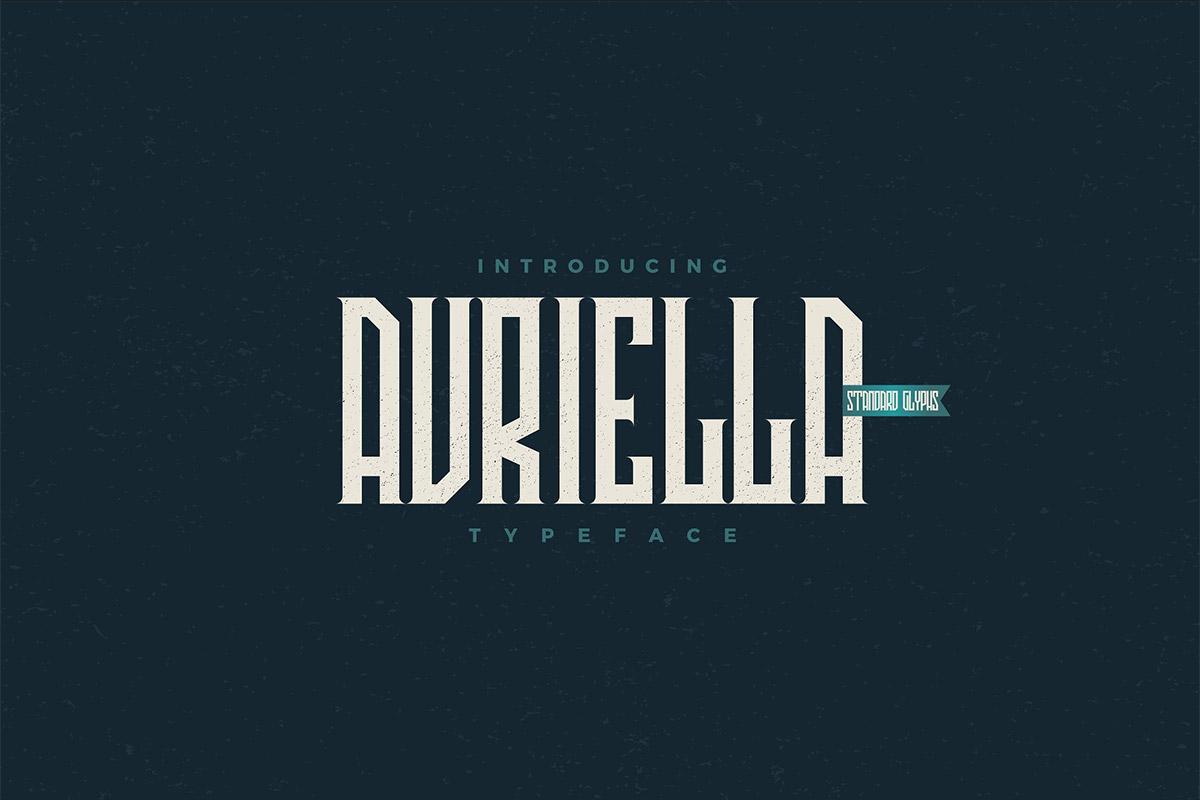 Free Avriella Display Font