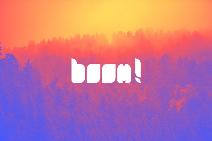 Free Boom Rounded Font