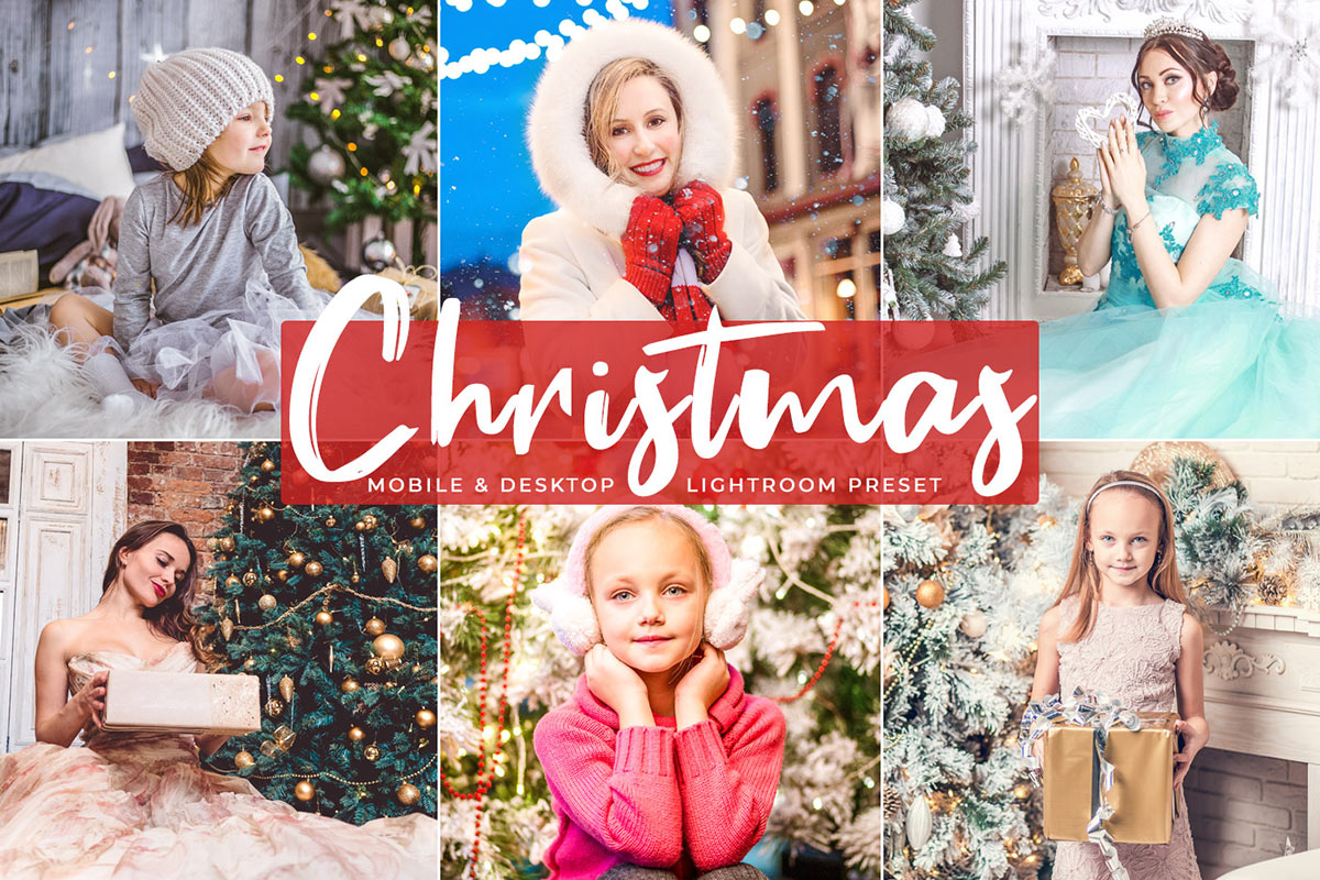 Free Christmas Mobile Lightroom Presets - Creativetacos
