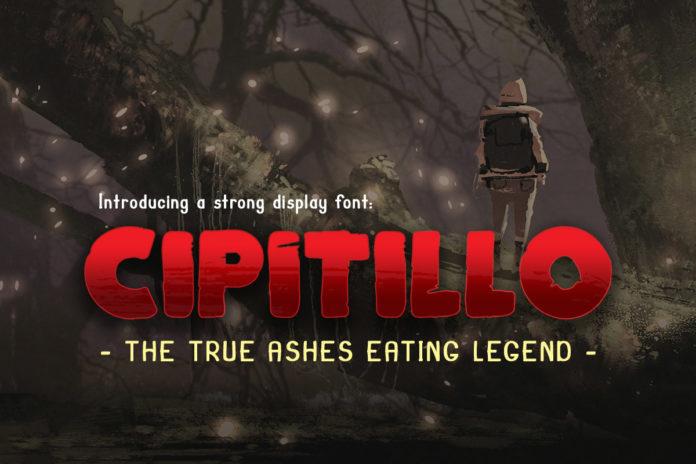 Free Cipitillo Horror Display Font