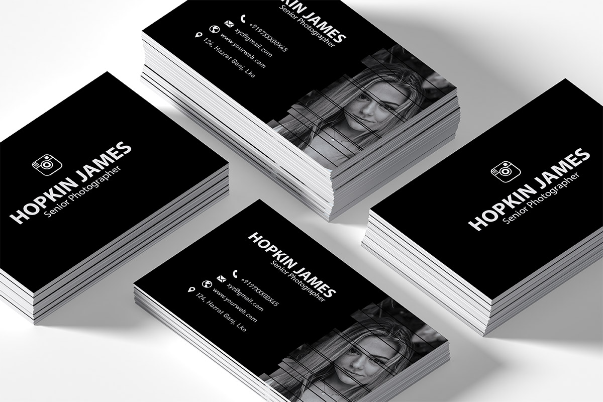 Free Corporate Photography Business Card