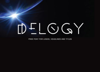 Free Delogy Display Font