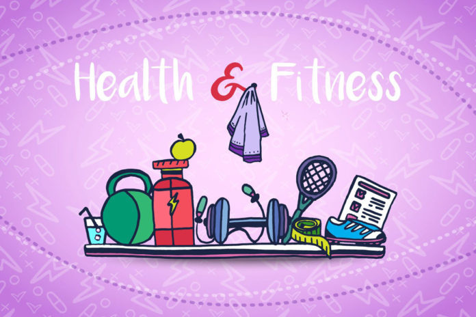 Free Health And Fitness Vector Illustration