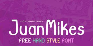 Free JuanMikes Sans Serif Font