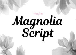 Free Magnolia Script Font