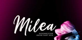 Free Milea Brush Font