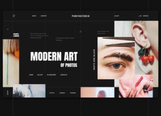 Free Modern Minimalistic UI Kits Templates