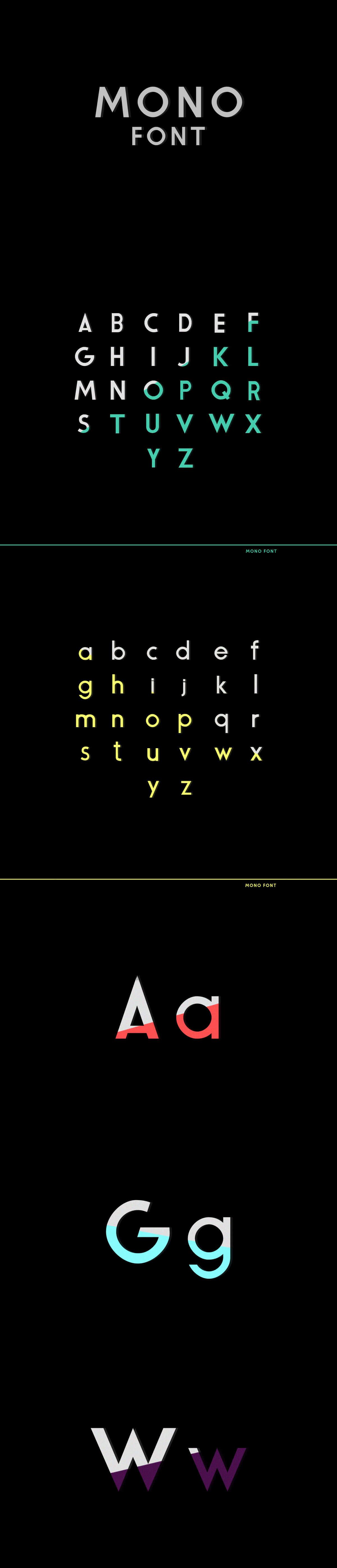 Free Mono Sans Serif Font