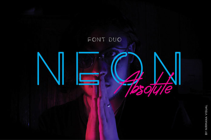 Free Neon Absolute Font Duo