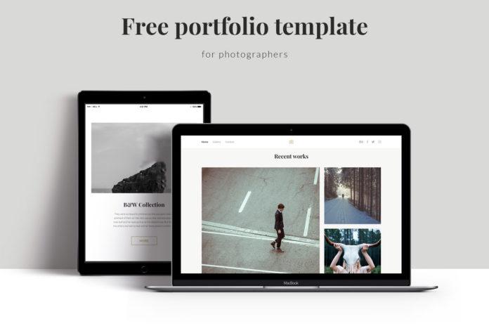 Free Personal Portfolio Template