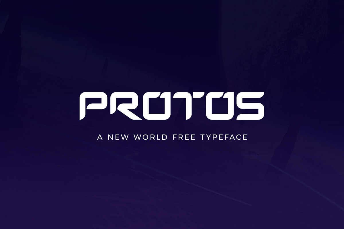 Free Protos Display Font