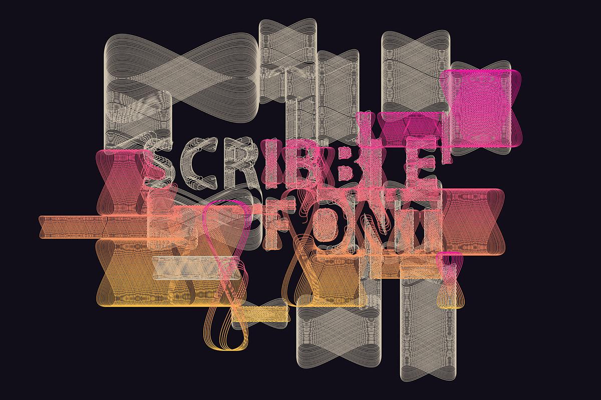 Free Scrbble Decorative Font
