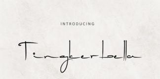 Free Tingkerbella Handwritten Font