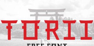 Free Torii Font