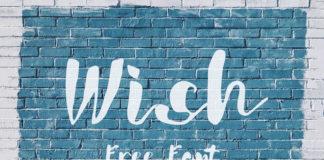 Free Wish Script Font