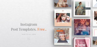 10 Free Instagram Fashion Post Template