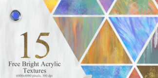 15 Free Modern Abstract Acrylic Textures