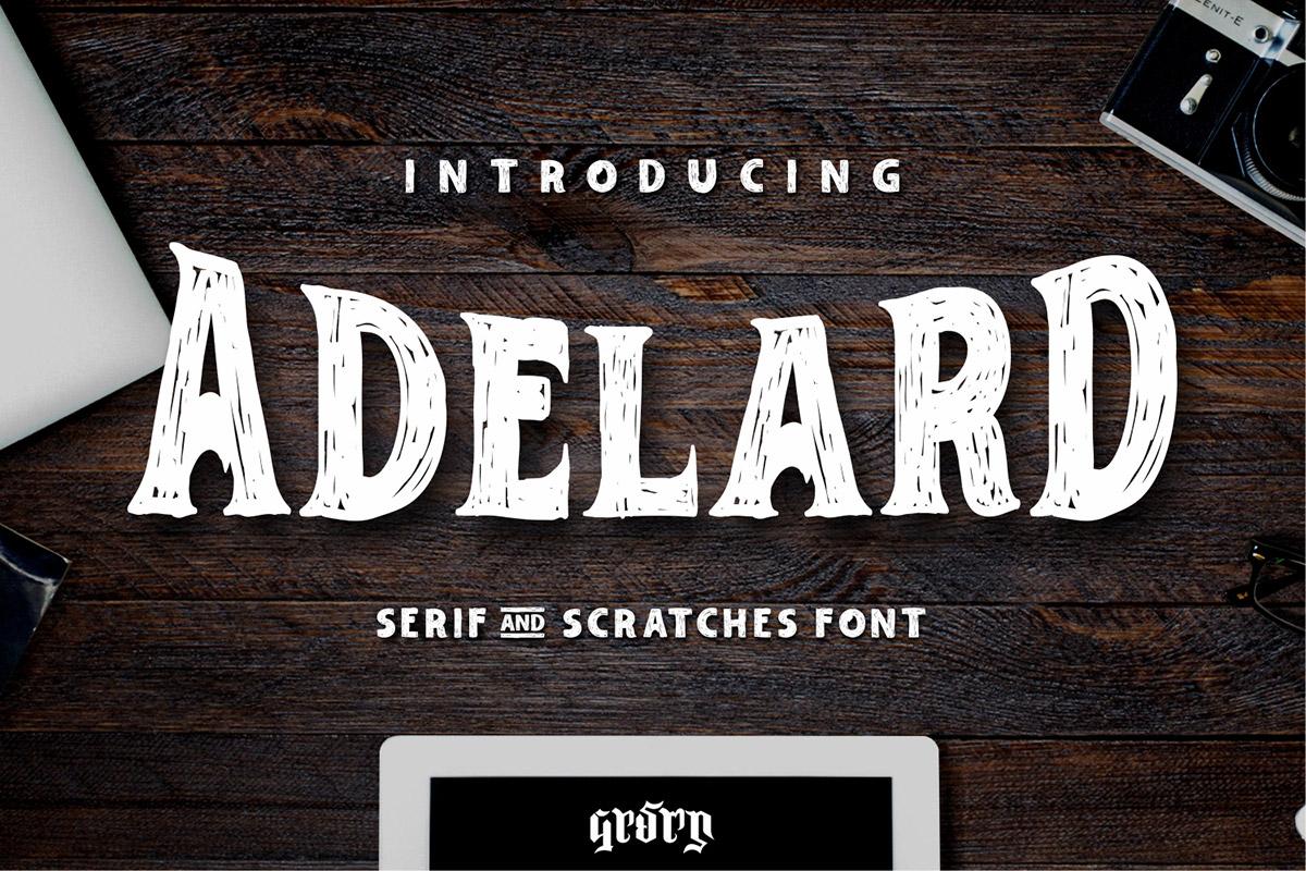 Free Adelard Serif Font