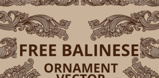 Free Balinese Ornament Vector