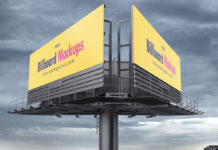 Free Billboard Mockup Set