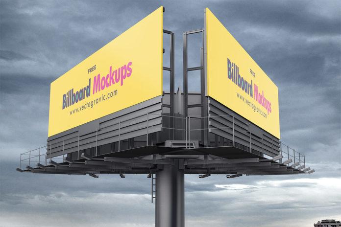 Free Billboard Mockup Set