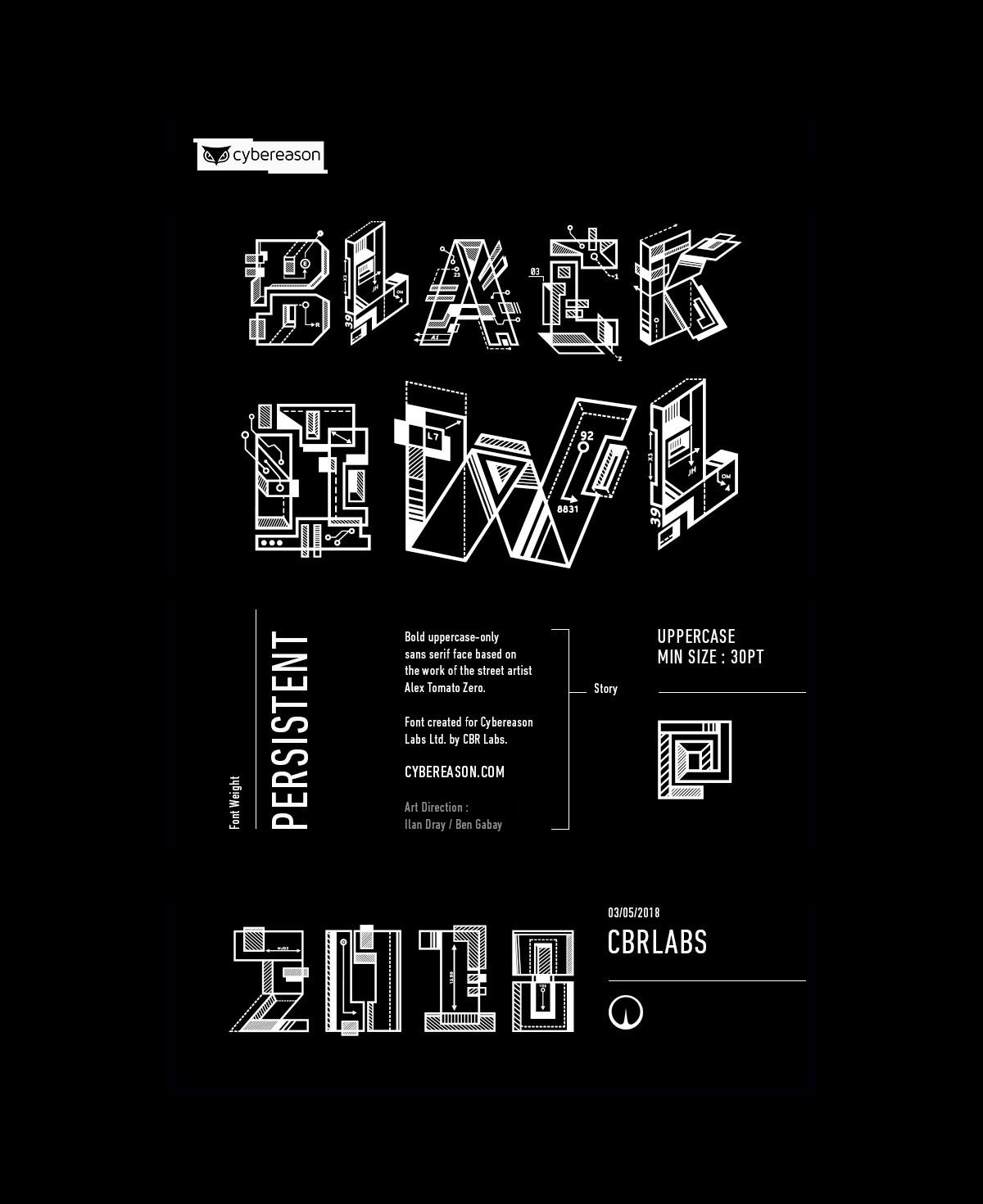 Free Black Owl Persistent Sans Serif Font