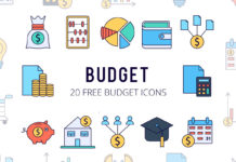 Free Budget Vector Icon Set