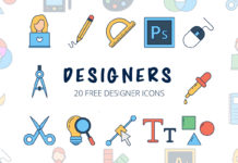 Free Designers Vector Icon Set