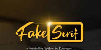 Free Fake Serif Font