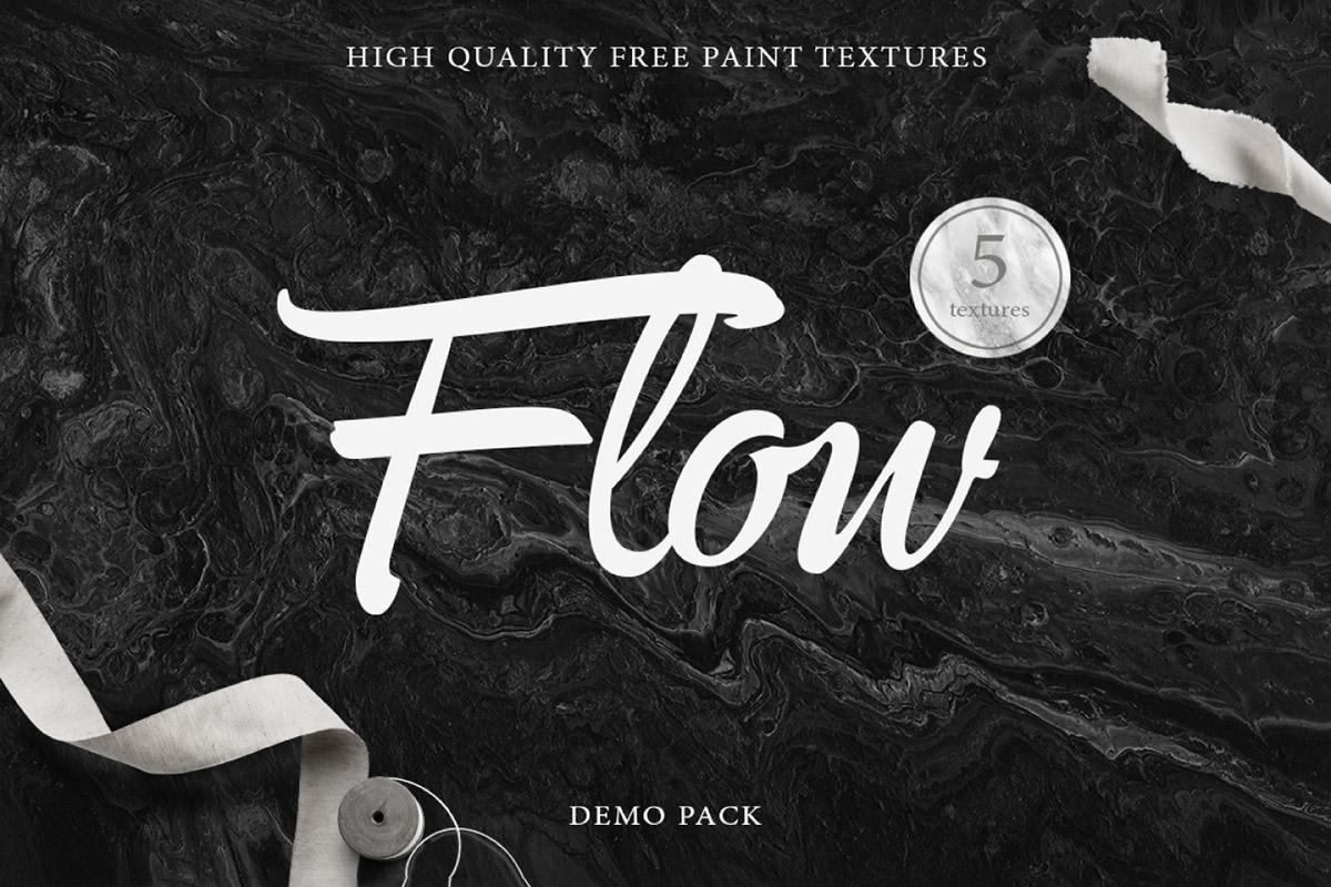 Free Flow Acrylic Backgrounds