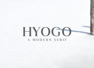 Free Hyogo Modern Serif Font