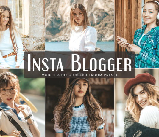 Free Insta Blogger Lightroom Preset