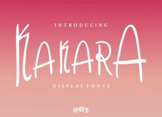 Free Kakara Display Font
