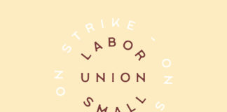 Free Labor Union Small Serif Font