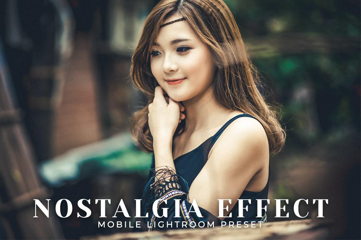 Free Nostalgia Effect Mobile Lightroom Preset Cover