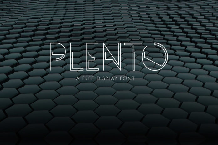 Free Plento Display Font