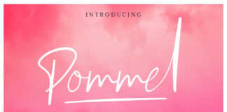 Free Pommel Handstylish Font