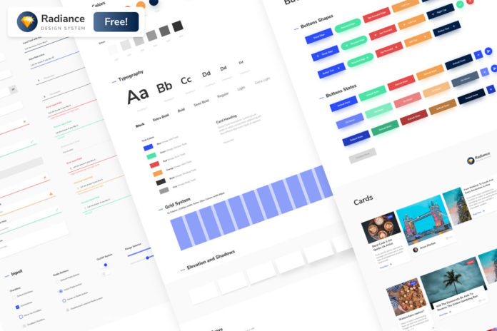 Free Radiance Design System UI Kit