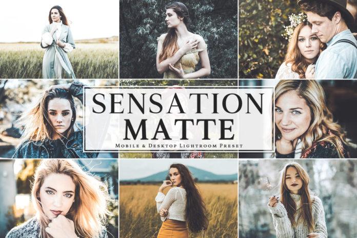 Free Sensation Matte Mobile Lightroom Preset