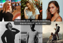 Free Sharpening Professional Photoshop Actions