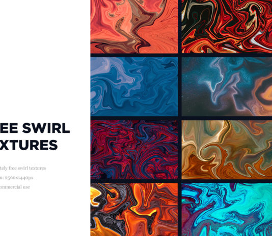50 Free Swirl Textures Collection