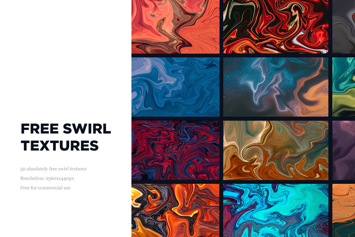 50 Free Swirl Textures Collection - Creativetacos