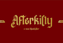 Free Afterkilly Blackletter Font