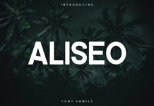 Free Aliseo Sans Serif Font