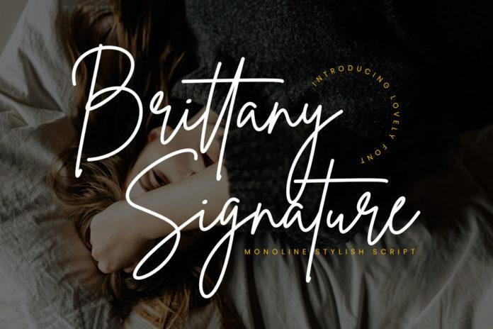 Free Brittany Signature Font