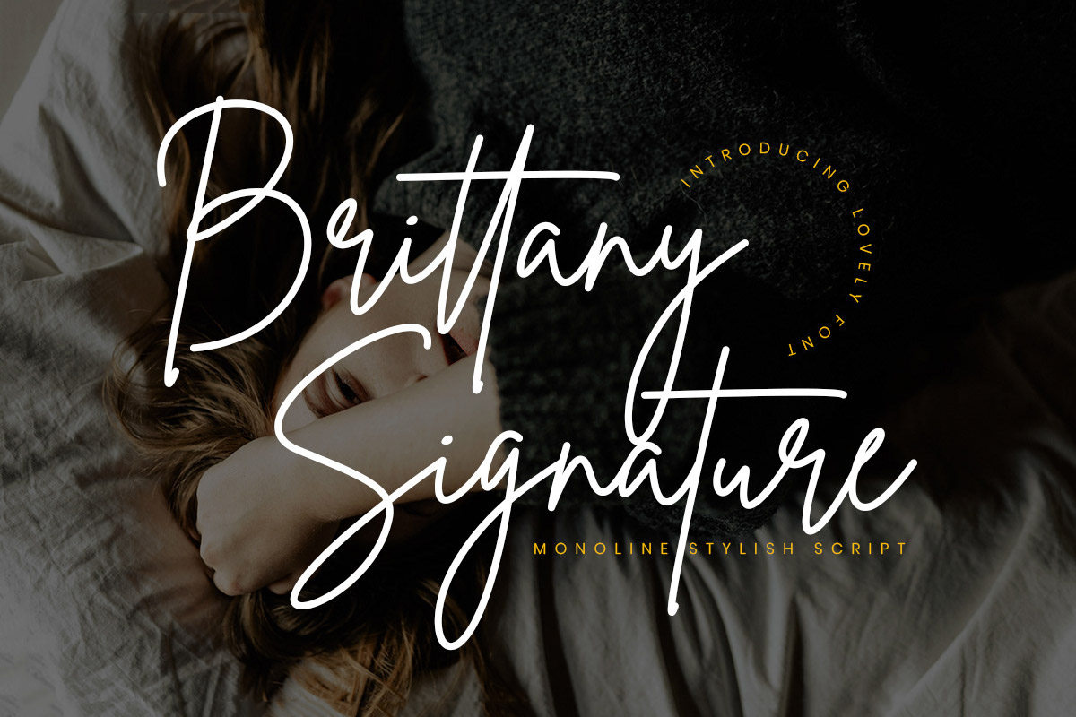 Free Brittany Signature Font
