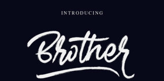 Free Brother Brush Handwritten Font