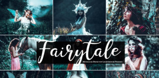 Free Fairytale Lightroom Preset