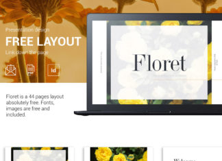 Free Floret Business Proposal Template