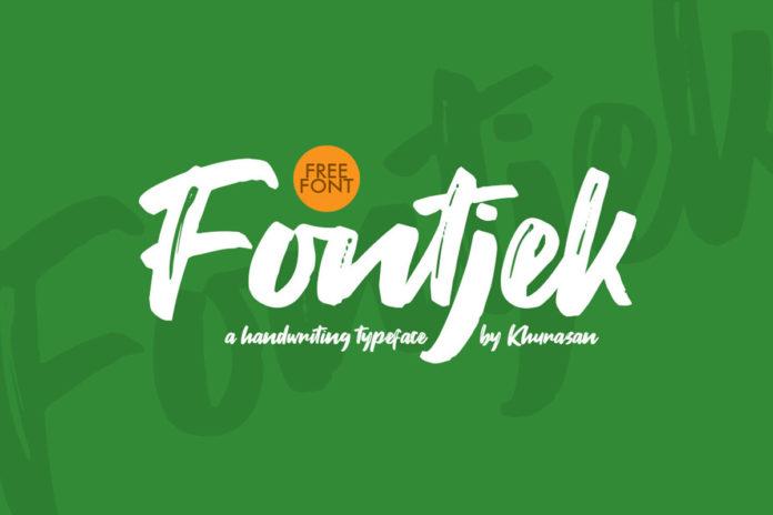 Free Fontjek Script Font